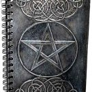 Black Pentagram Blank Book of Shadows