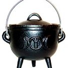 Goddess Cast Iron Cauldron
