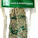 Sage & Sweetgrass Smudge Stick 5 Inch