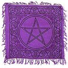 Pentagram Altar Cloth