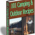 101 Camping & Outdoor Recipes 105  page Ebook pdf. FORMAT.