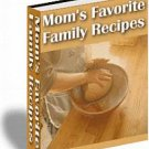 Moms Favourite recipe Ebook , with almost 200 recipes , Ebooks, Pdf format .