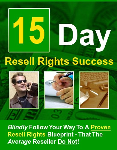 15 Days Re Sell Rights Success
