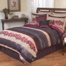 BED IN A BAG KING BEDDING SET DUVET COVER SHAMS SKIRT