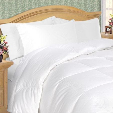 NEW 700 TC QUEEN WHITE GOOSE DOWN COMFORTER Comforters