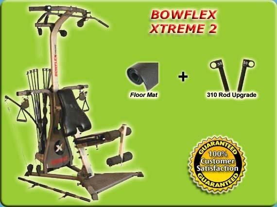 2007 BOWFLEX XTREME 2 + MAT AND 310 UPGRADE $200 VALUE