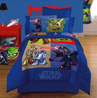 STAR WARS 3 PIECE GALACTIC HEROES TWIN SHEET SET NEW