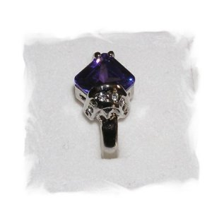 Unique Tanzanite Ring