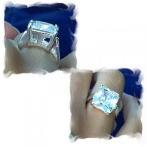 Bling Solitaire Ring