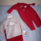 2 fleece sets OSH KOSH 3-6 months