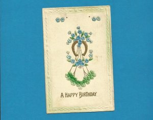 WISCONSIN 100 YEAR OLD BIRTHDAY POSTCARD WITH ONE CENT UNITED STATES STAMP