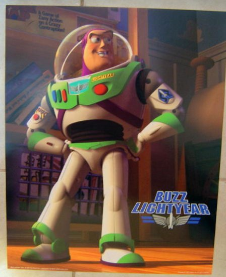 Buzz Lightyear Toy Story Poster