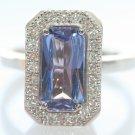 Vintige Estate Tanzanite Diamond 14KGold Cocktail Ring