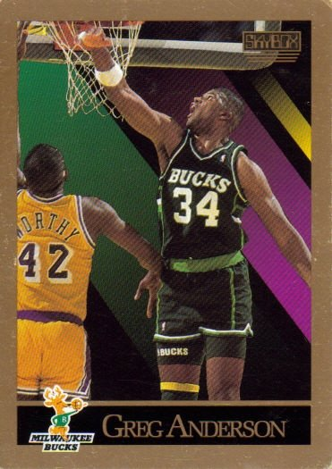 Anderson, Greg, Milwaukee Bucks