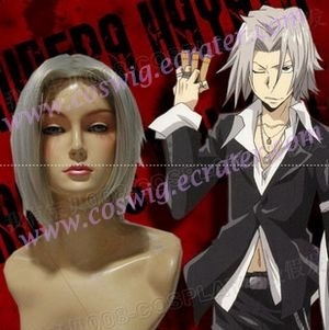 Reborn Gokudera Hayato Cosplay Wig