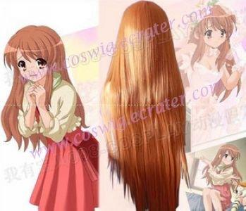 Haruhi Suzumiya  Asahina Cosplay straight  wig