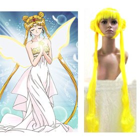 Tsukino Usagi  wigs yellow from Sailor Moon