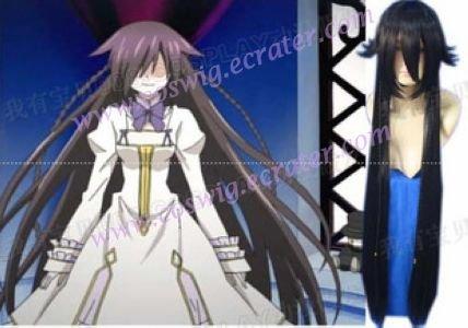 Pandora Hearts B-rabbito Alice black Cosplay Wig