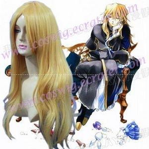 Pandora Hearts Vincent Nightray cosplay wig