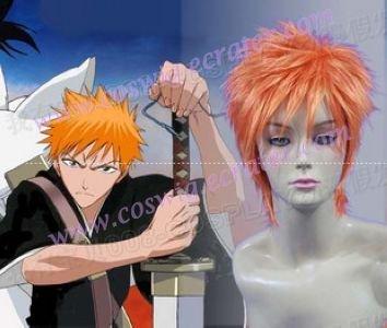 Bleach Kurosaki Ichigo Bankai 2nd cosplay wig