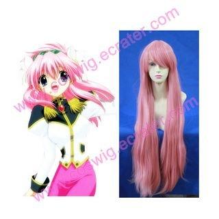 Galaxy Angel pink  Halloween Cosplay wig