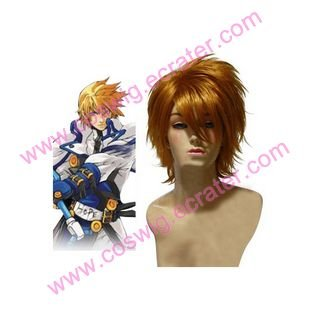 Guilty Gear Ky Kiske   Halloween Cosplay wig