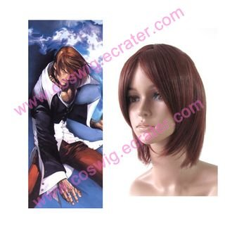 King of Fighter's Iori Yagami  Halloween  Cosplay Wig