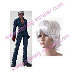 The King Of Fighters sliver  Cosplay Wig