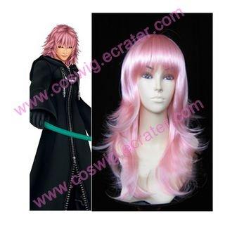 Kingdom Hearts II Organization XIII Marluxia Halloween Cosplay Wig