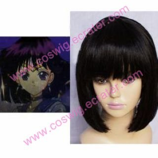 Sailor Moon Sailor Saturn Hotaru Tomoe  Halloween Cosplay Wig