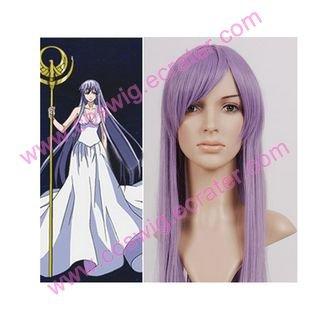 Saint Seiya The Lost Canvas - Myth of Hades Athena   Halloween Cosplay Wig