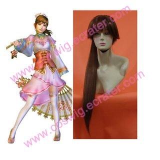 Dynasty Warriors 4 Da Qiao  Halloween Cosplay Wig