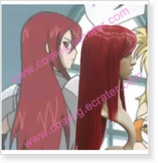 Fairy Tail Erza Scarlet  Halloween Cosplay Wig