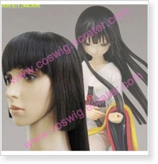 Jigoku Shoujo Ai Enma  Halloween Cosplay Wig