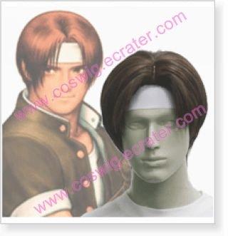 The King of Fighters Kyo Kusanagi Halloween Cosplay Wig