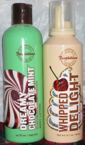 RARE Bath & Body Temptations Whipped Delight mousse & lotion