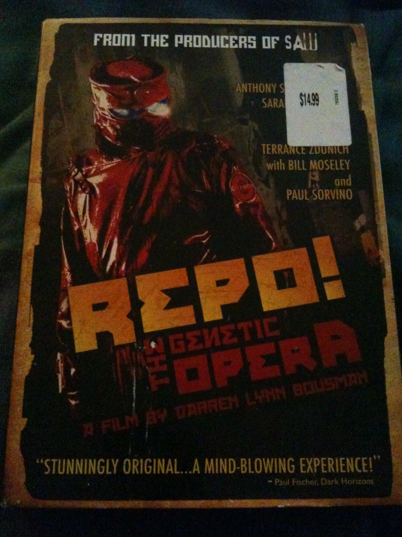 BRAND NEW REPO the Genetic Opera Sealed DVD