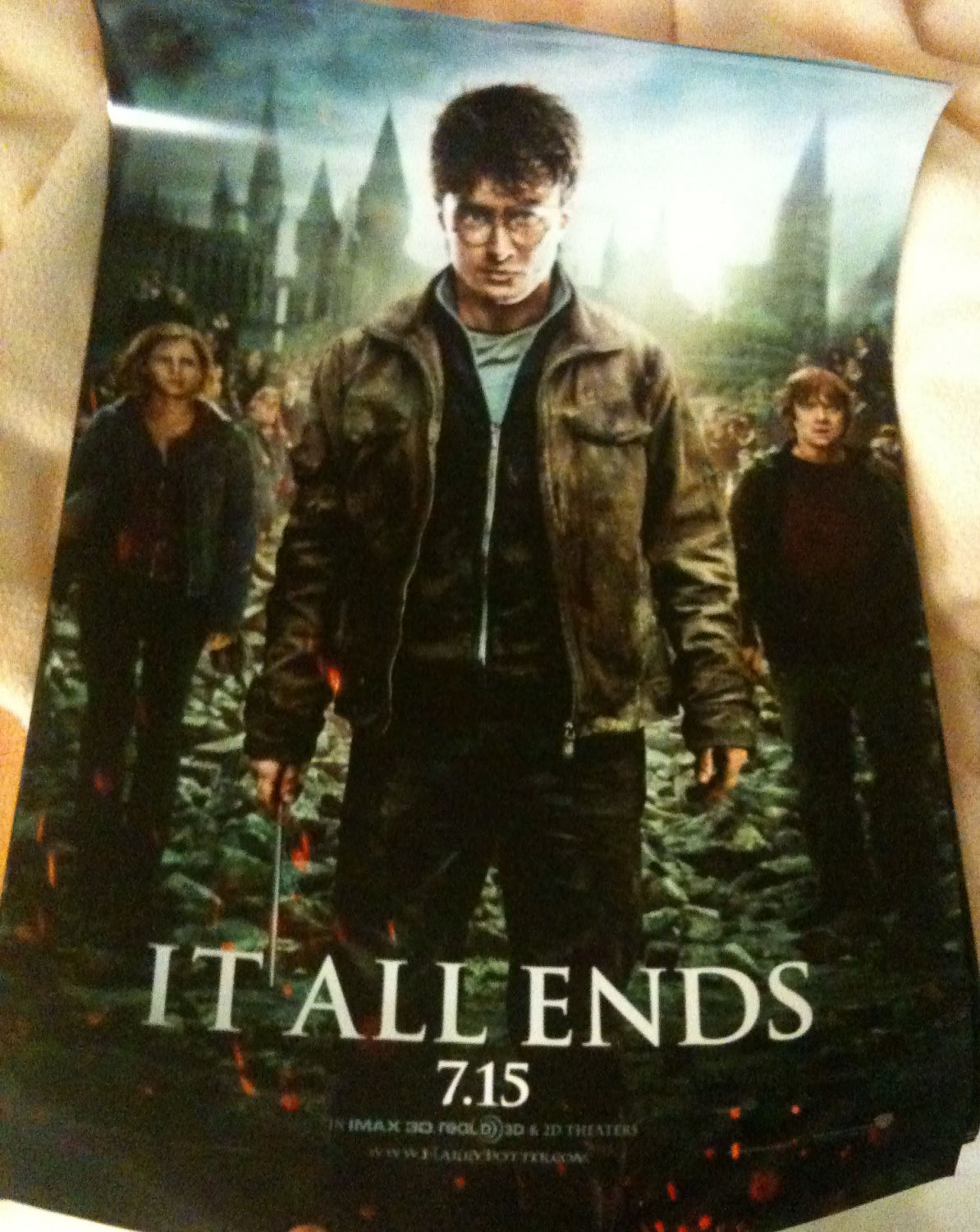 Harry Potter and the Deathly Hallows Part 2 mini poster