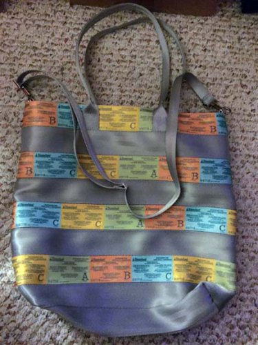 Harvey's Streamline Tote Disneyland retro A,B,C-ticket seatbelt bag purse Disney D23 Expo exclusive