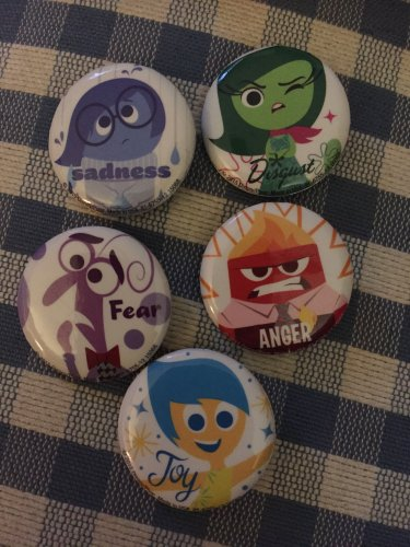 Disney Pixar INSIDE OUT exclusive pin set - from Q&A panel with the filmmakers