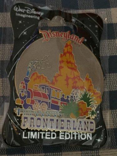 Disney D23 Expo 2015 WDI Walt Disney Imagineering Disneyland FRONTIERLAND Pin LE300
