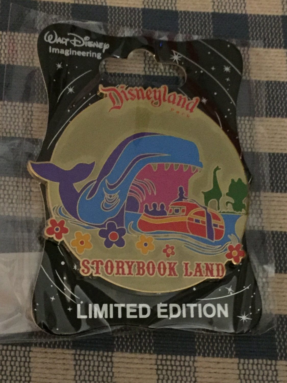 Disney D23 Expo 2015 WDI Walt Disney Imagineering Disneyland STORYBOOK LAND Pin LE300
