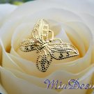 6 Butterfly Stems for Wedding Bouquet Flower or Cake Topper Decoration