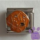 Adorable Dachshund Dog Italian Charm with puppy dog eyes