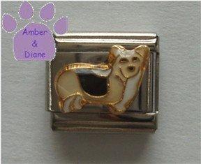 Corgi Dog Italian Charm