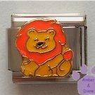 Lovable Leo the Lion Italian Charm for August Birthday