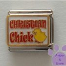 CHRISTIAN Chick Italian Charm with Yellow Chick