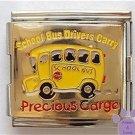 School Bus Italian Charm Megalink Bus Drivers Precious Cargo
