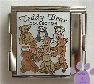 Teddy Bear Collector Italian Charm Megalink