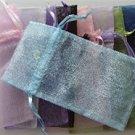 Organza Gift Bag variety of colors 6 X 3 inches Drawstring